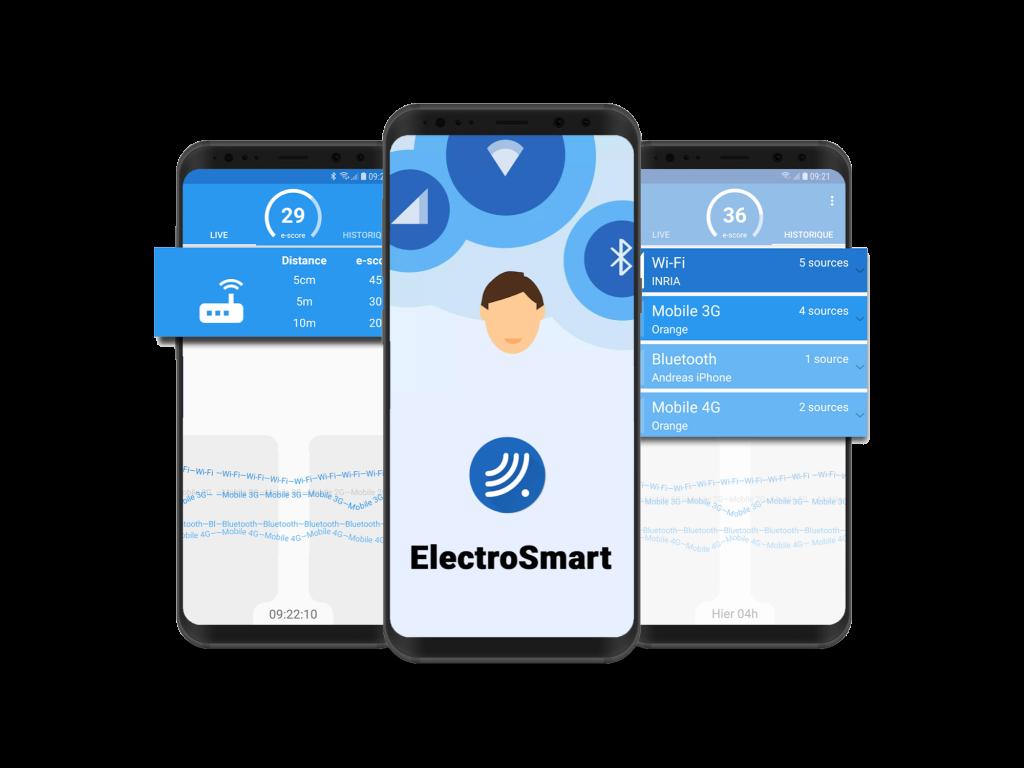 Mesurez votre exposition aux ondes avec l'appli Electrosmart