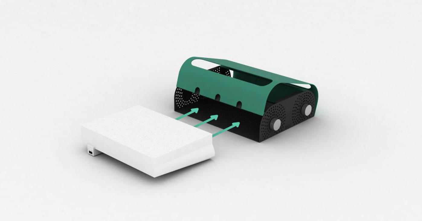 Glissez simplement votre box wifi dans la Sybox pour diminuer votre exposition aux ondes