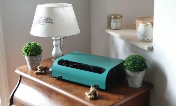 La Sybox One réduit l'exposition aux ondes électromagnétiques